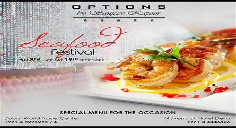 Seafood Festival - Options by Sanjeev Kapoor - Deira