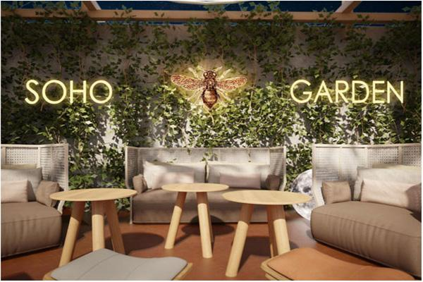 Image result for soho garden brunch dubai